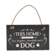 This Home Is Blessed With Love Slate Plaque